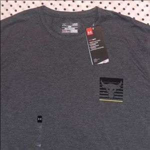 Under Armour x Project Rock graphic tee (gray)